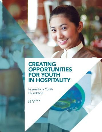 creating opportunities for youth in hospitality - International Youth ...