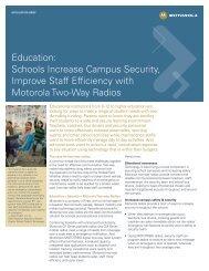 Schools Tighten Campus Security, Improve Staff Efficiency with ...