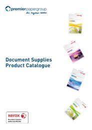 Document Supplies Product Catalogue - Premier Digital Papers