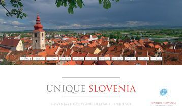 slovenia's history and heritage experience - Unique Slovenia