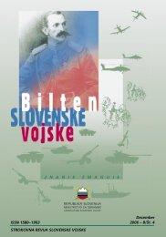 Letnik 8/4, december 2006 - Slovenska vojska