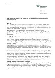NOTAT Notat om støj fra vindmøller – P1 dokumentar om ...