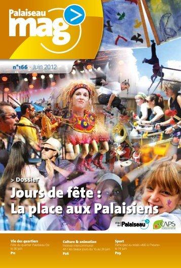 Palaiseau Mag n°166 - Juin 2012 - Ville de Palaiseau
