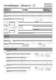 Formular Anmeldung Klassen 6 - 12 - Wilhelm-Hausenstein ...