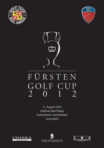 11. August 2012 Golfclub Bad Ragaz Golfverband Liechtenstein ...