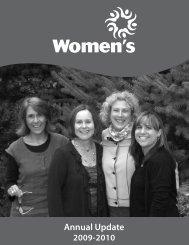 Annual Update - Maine Women's Fund