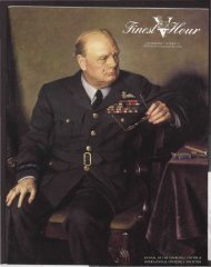 KBIttI JOURNAL OF THE CHURCHILL CENTER ... - Winston Churchill