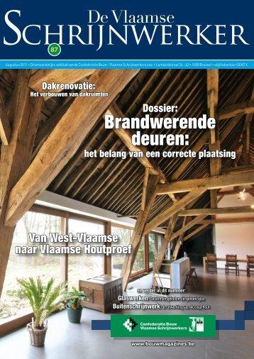 Vlaamse Schrijnwerker_augustus_2011.pdf - Magazines Construction