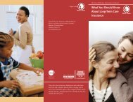 What You Should Know About Long-Term Care ... - Mutual of Omaha