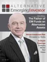 The Father of EM Funds on AIternative Assets - Global AgInvesting