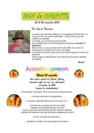 Semaine 47 - Fan De Carotte