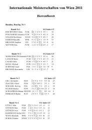 IM Wien 2011 FLSB Ergebnisse - Fechten an der USI und im ASC ...