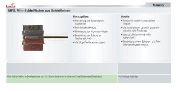 Schleiffächer aus Schleifleinen - LUKAS-ERZETT