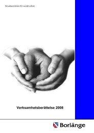 Årsredovisning 2008.pdf - Borlänge kommun