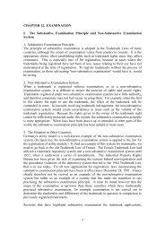 CHAPTER 12. EXAMINATION I. The Substantive Examination ...
