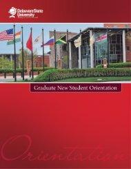 Graduate Orientation Handbook - Delaware State University