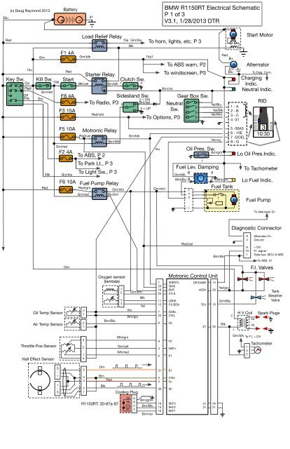 bmw fuel pump diagram bmw r1150rt electrical schematic p 1 of 3 v3 1  1 mac pac org  bmw r1150rt electrical schematic p 1 of