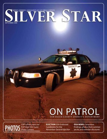 ON PATROL - Deputy Sheriffs' Association of San Diego County