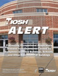 Preventing Occupational Respiratory Disease from Exposures ...