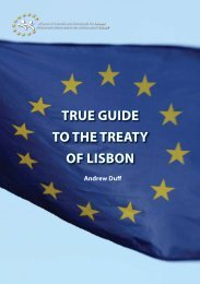 True Guide To The TreaTy of Lisbon