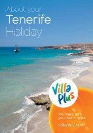 Download Tenerife resort guide(pdf) - Villa Plus