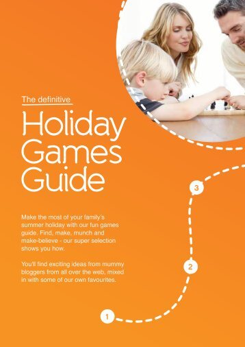 Download the holiday games guide PDF - Villa Plus