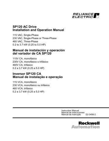 Powerflex 4m Quick Start Manual