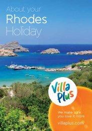 Download Rhodes resort guide(pdf) - Villa Plus