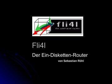 Der Ein-Disketten-Router