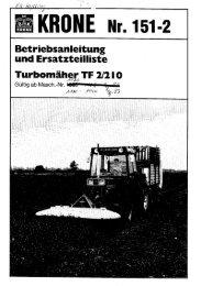 Page 1 E 151 -2 ' bsanleitung und Ersatzteilliste le Betr F2/2l0 Ã'Â¿ih/gr ...