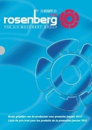 Bruto prijslijst van de producten voor promotie januari 2012 Liste de ...