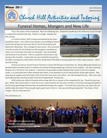Winter 2011 Newsletter - CHAT