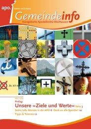 Unsere »Ziele und Werte«Seite 3 - Evangelische ...