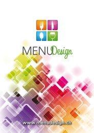 KUNDEN - Menu Design