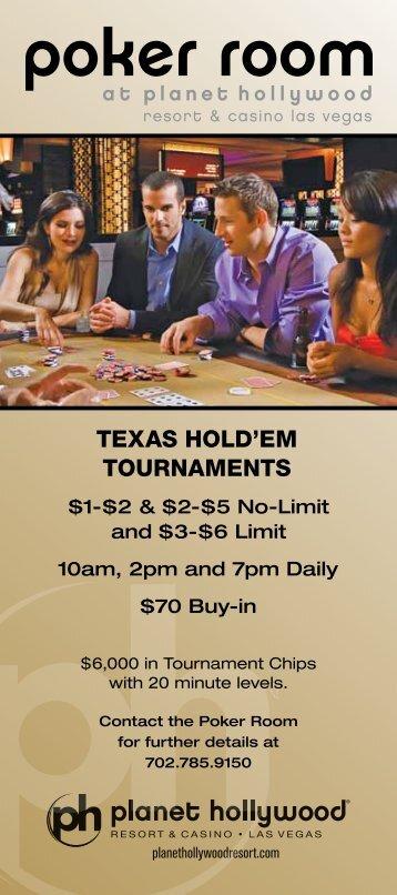 texas hold'em tournaments - Planet Hollywood Resort & Casino