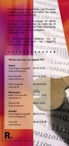 saker att tänka på när du skaffar digital-TV - Page 5