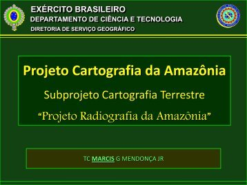 Projeto Cartografia da Amazônia