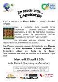 Conférence agroécologie, permaculture - Amis de la Terre - Page 2