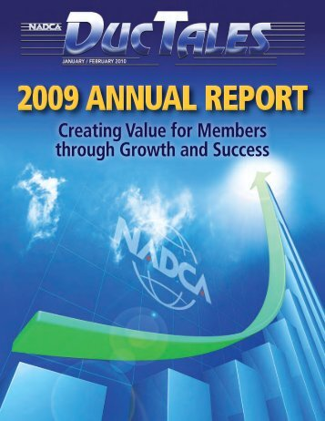2009 ANNUAL REPORT - NADCA