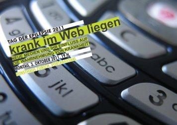 TAG DER EPILEPSIE 2011 krank im Web liegen