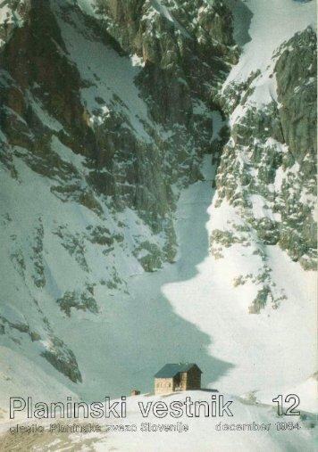 December - Planinski Vestnik