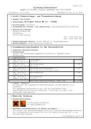Sicherheitsdatenblatt 1 Stoff-/Zubereitungs- und ... - Wendisch-PS