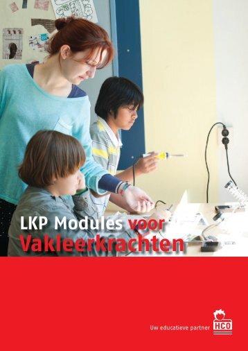 LKP modules voor vakleerkrachten 2015