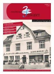 Schwanen-Journal Januar 2012 - Hotel - Restaurant Schwanen