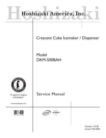 tech spec s technician s pocket guide hoshizaki america inc hoshizaki america inc