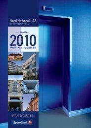 Rapport pr. 31. desember 2010 - Swedbank