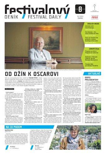OD DŽÍN K OSCAROVI - Mezinárodní Filmový Festival Karlovy Vary