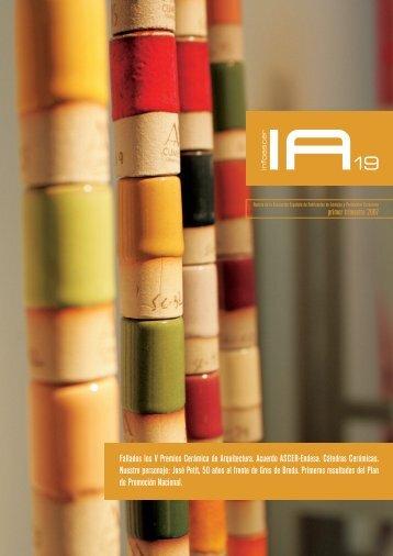 Fallados los V Premios Cerámica de Arquitectura ... - Tile of Spain