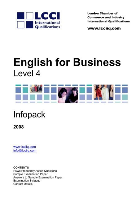 English For Business LCCI