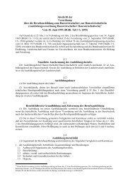 Verordnung über die Berufsausbildung zum Hauswirtschafter/ zur ...